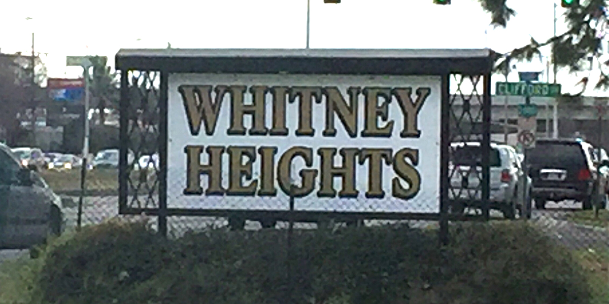 WHITNEY HEIGHTS SIGN